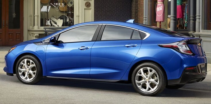 Image of 2016 Chevy Volt side