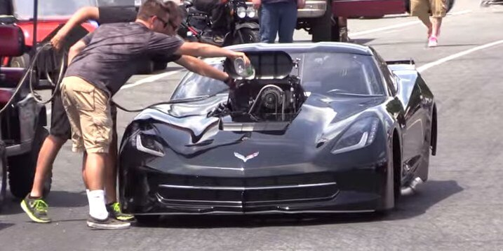 image of corvette c7
