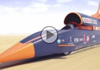 135.000 HP – Faster than a bullet! The Bloodhound Supersonic Car!