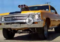 Outrageous Pro Street 1967 Blown Chevy Chevelle SS making over 700 HP!