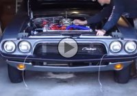 This 1974 Dodge Challenger is hiding a real 500 cubic inch monster under the hood!