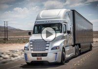 Daimler's self driving truck Freightliner Inspiration is already running on the highways of Nevada!