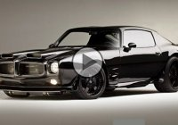 "Project ""Black Hawk"", a 1970 Pontiac Firebird Pro Touring built by All Speed Customs!"