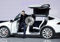 Tesla Model X – The first electric SUV was finally unveiled!