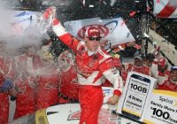 Kevin Harvick and Chevy win Nascar Sprint Cup Series 2015 at Dover!