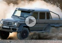 Mercedes Benz G63 AMG 6×6 – Off road beast!!!