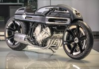 Streamlined Beauty – The BMW K1600 Cafe Racer by Krugger Motorcycles!