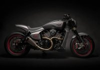 Modern Victory Ignition Concept Motorcycle!