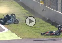 This Is The Worst Nightmare For A Motorcycle Rider – A Horrific Front Flip Crash!!