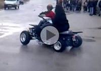 Epic Fail On A Yamaha Banshee – That Must've Hurt!!
