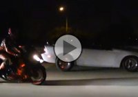 The Everlasting Battle Between Cars And Bikes – 900 Hp Camaro vs Nitrous ZX14!!