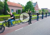 A New Guinness World Record – The Longest Bicycle In The World!
