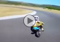 Kid Ride His Pocket Bike Like A Pro – Is He The Future Of Moto GP??