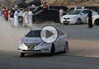 Powerful tire-shredding, unfortunate crashes – Only in Saudi Arabia