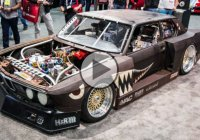 Rusty Slammington BMW is 2015 Sema's craziest ride!