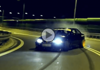 Raw action: BMW Night-time drifting at its finest!