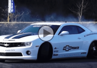 Ryoichi Kurokawa is drifting a mighty Chevrolet SS!