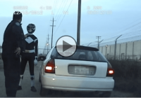 What happens when a police officer stops a Black Power Ranger?