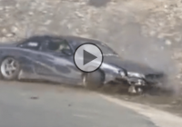 Drifting Nissan Silvia S15 k2 catastrophic crash!