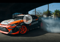 Fredric Aasbo makes Los Angeles tremble with his Racing Scion TC!