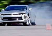 2016 Chevrolet Camaro SS with the drifting mode on!