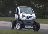Is it possible to make a Renault Twizy get sideways?