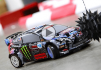 Micro Gymkhana, the RC tribute to Ken Block's Gymkhana 6 goes sideways!