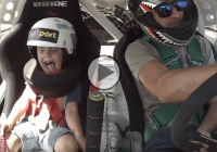 Father takes his 5 year old son drifting!