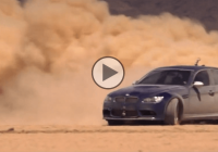 BMW M3 takes drifting to the Arab desert and owns it!