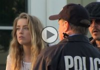 Johnny Depp and Overhaulin prank Amber Heard and then reveal her re-designed Mustang!