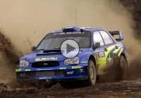 This Subaru WRC is one fast drifting machine!
