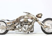 Custom Harley Davidson Chopper – The Terminator!!