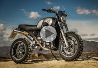 The BMW R 1200 GS LC Scrambler In Action!