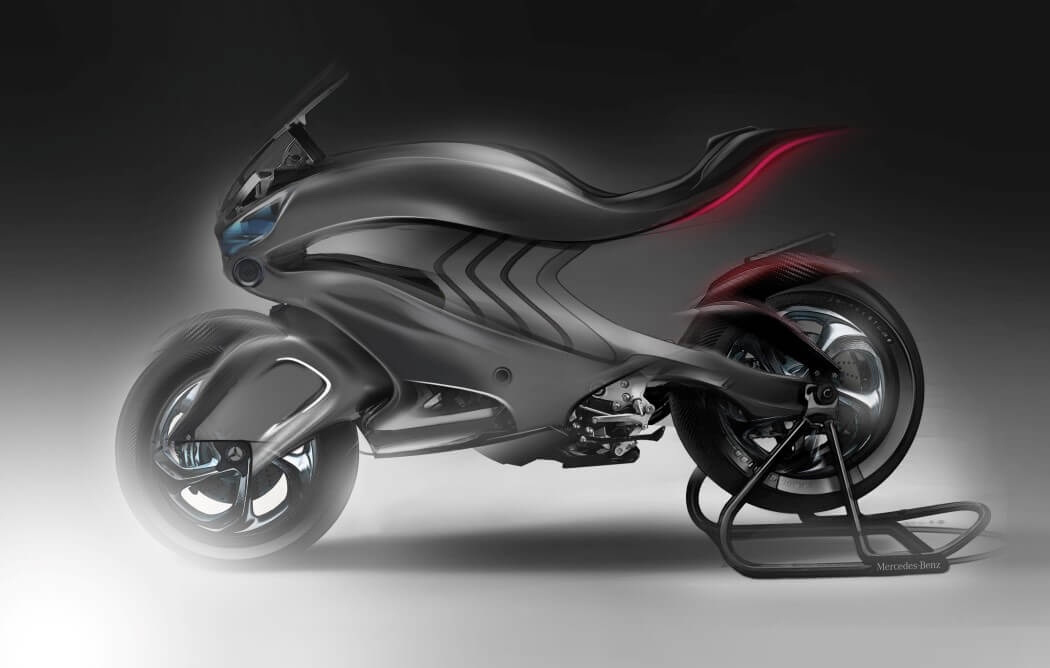 The mercedes benz concept superbike revenge 2030 for Mercedes benz bikes