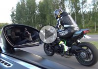 "Kawasaki Ninja H2 vs Bugatti Veyron 16.4 ""Dutchbugs"" in 4k Ultra!!"