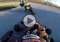 Super Moto vs Go Kart – Place Your Bets!!