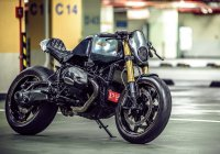 "Custom BMW R nine T By OneHandMade – ""PARANOIA"""