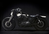 El Solitario's Harley Davidson Sportster Is A True Piece Of Art!!