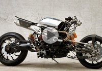 Custom BMW HP2 Sport Cafe Racer By Stellan Egeland!