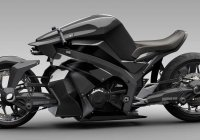 High-Tech Futuristic 2WD Ostoure Superbike Concept!