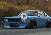 Liberty Walk Nissan Skyline – Unique creation!!!