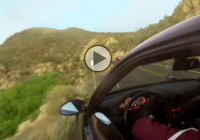 Reckless BMW M3 driver drives off cliff