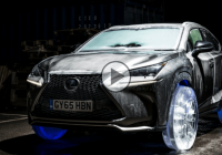Meet the new Lexus Nx on Ice Wheels!!!