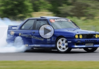 1100 HP BMW M3 e30 fitted with Supra engine tears up the track!