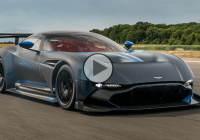 Aston Martin Vulcan lighting up the Goodwood Festival of Speed