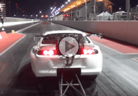 Toyota Supra Record breaking does the quarter mile in 5 seconds!!!