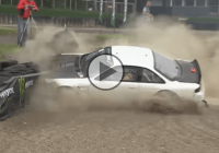 LS-powered Nissan Silvia S14 ends in an unfortunate crash at high speed!