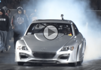 1600HP TRIPLE Turbo Mazda RX-8 makes us feel sorry for the drag strip!