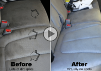 Simple, effective homemade stain removal for your car!
