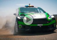 Ford celebrates 400,000 engines – Gymkhana style!